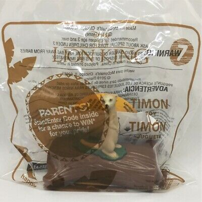 ☆ Disney The Lion King Timon Toy  ☆ New 2019 McDonald's Happy Meal Toy #7