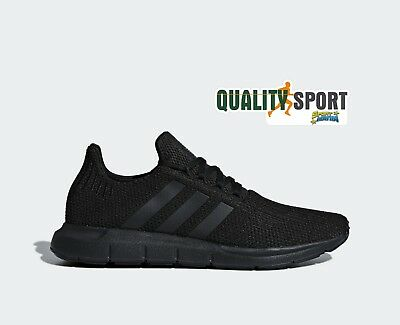 ADIDAS SWIFT RUN Noir Chaussures Homme Sportif Baskets