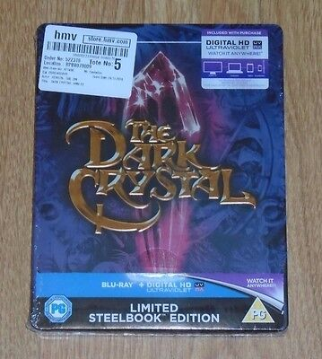 The Dark Crystal - Steelbook - blu-ray. New and sealed, UK release
