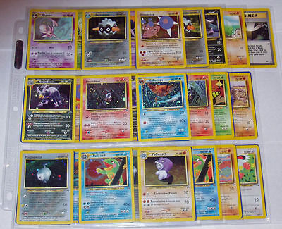 Neo Discovery - Pokemon Trading Card - Complete Set - Choose A Card