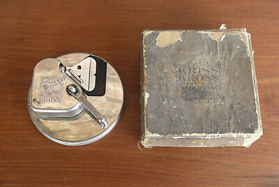 Antique Rhodes Kriss Kross Safety Blade Stropper Razor Blade Sharpener Pat. 1927