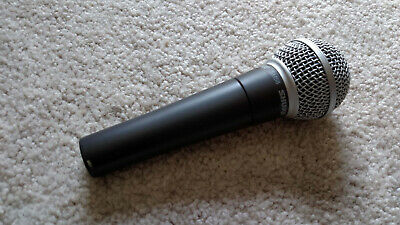 Shure SM58 XLR microphone (for vocals, instruments) handheld dynamic mic