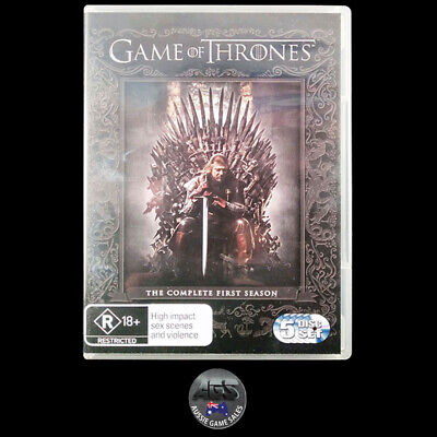 Game of Thrones: The Complete First Season (DVD) R4 - Action - Drama