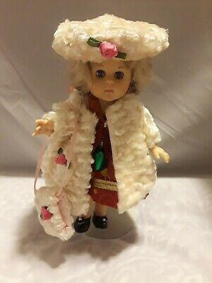 """Vtg. 3pc. Matching Doll Coat Outfit for 8"""" Vogue Ginny, Ginger, Alex-kin, Doll"""
