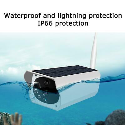 Solar Power IP Camera Wireless Wifi Surveillance Camera Night Vision LOT Outdoor