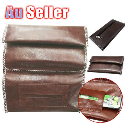 Cigarette Wallet Filter Gift Tobacco Pouch Holder Leather Bag Case Rolling Paper