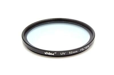 Universal Protective UV Filter 52mm for Nikon AF-S Micro 85 mm 3.5 G ED DX VR