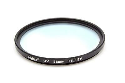 Protective UV Filter 58mm for Fujifilm XC 50-230 mm 4.5-6.7 OIS