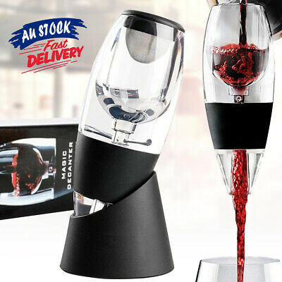 Decanter Essential Sediment Filter RED Wine Aerator Magic AU and