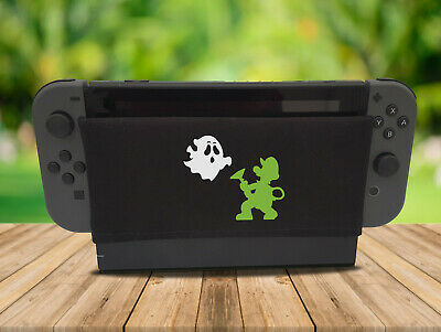 Haunted Mansion - Nintendo Switch Dock Sock Cover Retro Gaming Screen Handmade