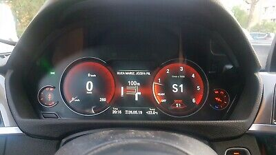 NEW BMW F30/FX LCD/LED Instrumental Cluster WITH HUD ! Tacho