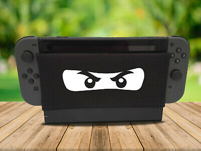 Ninja - Nintendo Switch Dock Sock Cover Retro Gaming Screen Handmade