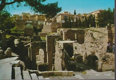 POSTKAART 3 JERUZALEM Pool of Bethesda Excavations