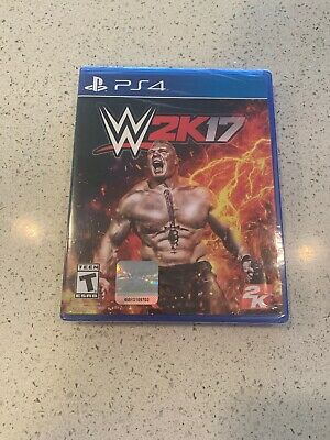 Wwe 2K17 - Ps4  Brand New Factory Sealed.     Free Shipping