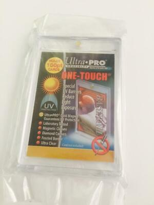 1 ULTRA-PRO ONE-TOUCH Magnetic 100PT UV Protected Card Holders as picture in