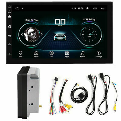 7'' inch Android 8.1 Double 2DIN Car Radio Stereo no DVD Player GPS Navigation