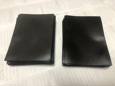 120pcs DECK PROTECTOR Card Sleeves 62mm*89mm black and Matte