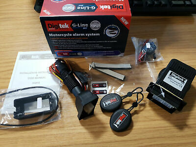 New Motorcycle/ Motorbike Alarm System Anti-theft DIY Security Remote Control