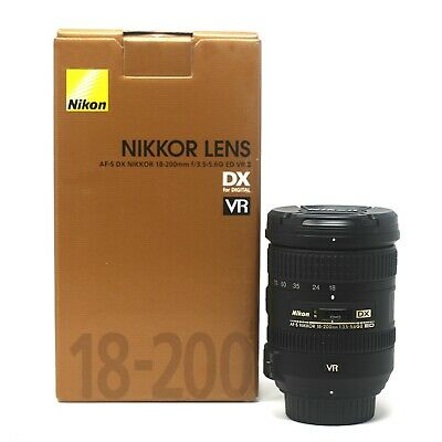Nikon  AF-S DX NIKKOR 18-200mm f/3.5-5.6G ED VR II  - UK NEXT DAY DELIVERY