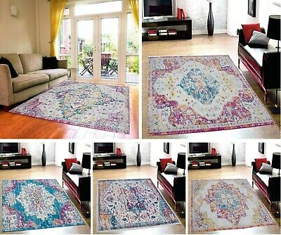 Large Classic Rug Traditional Vintage Style Drawing Room Dining Hall Area Rugs