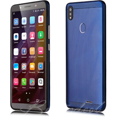 2019 6 Inch Android 8.1 Unlocked Smart Mobile Phone Quad Core Dual SIM Phablet