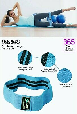EVO Resistance Bands Elastic Legs Loop Fabric Exercise & Expanders HIP CIRCLE