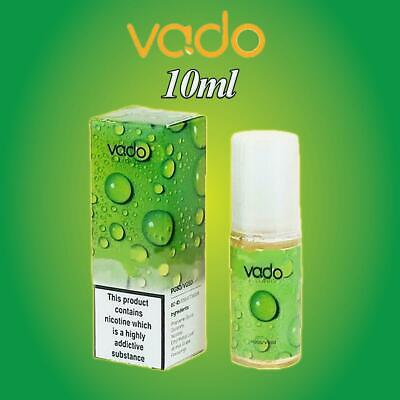 10ml Vado Vape E Liquid Juice Eliquid 0/3/6/12/18mg nicotine - New 50/50 VG/PG