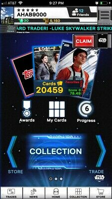 topps star wars digital card trader Any 9 Cards For 1$ Ahab9000