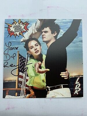Lana Del Rey Signed Postcard & CD