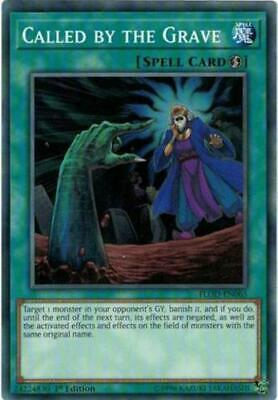 1x - Called by the Grave - FLOD-EN065 - Common - 1st Edition NM YuGiOh!  Flames