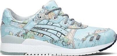 Details about Asics Gel Lyte III Atmos World Map 1191A197 400 Men Size US 8 NEW 100% Authentic