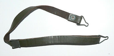GB - 1(One) x Chinstrap for M1 type Helmet liner - Green Leather - New old stock