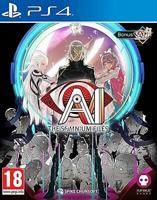 AI: The Somnuim Files PS4 Preorder Brand New Sealed UK 20/09/19