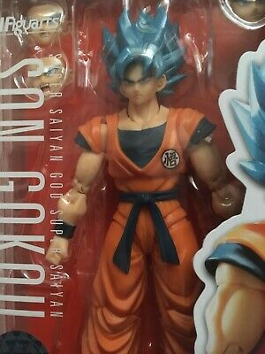 Bandai S.H.Figuarts Dragon Ball Super Saiyan God Son Goku SSGSS Action Figure