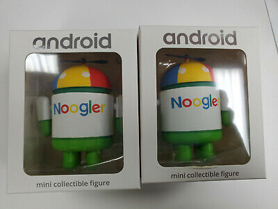 "Android Mini Collectible Figure - Google Edition GE Limited Rare ""Noogler 2019"""