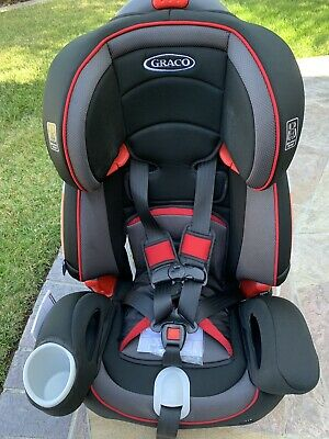 Graco Nautilus 80 Elite 3-in-1 Harness Booster Car Seat, Great condition!