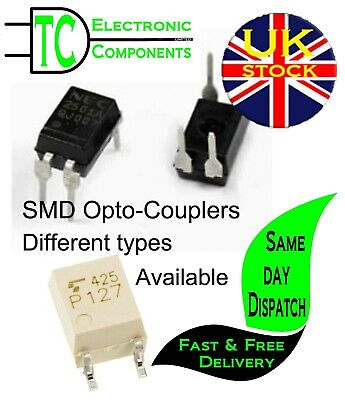 SMD Opto Couplers  Different types available (5 Pack) **UK SELLER**