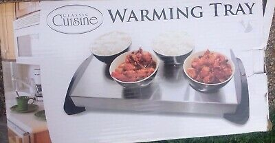 Warming Tray Table Top Keep Food Hot Stainless Steel