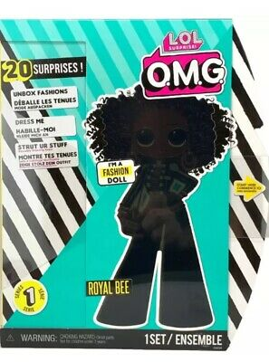 LOL Surprise OMG Fashion Doll Royal Bee 20 Surprises New In Hand