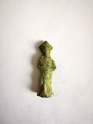 Ancient Style Roman Goddess Reproduction Small Bronze Figurine Figure Statue #2