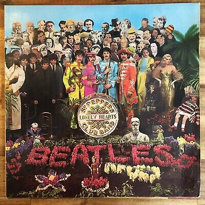 The Beatles - Sgt. Pepper's Lonely Hearts Club Band Lp 1976