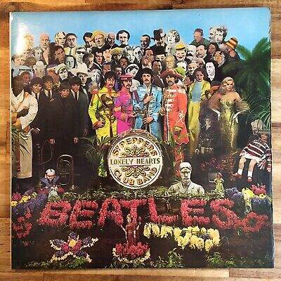 The Beatles - Sgt. Pepper's Lonely Hearts Club Band Lp 1973 Gatefold Sleeve