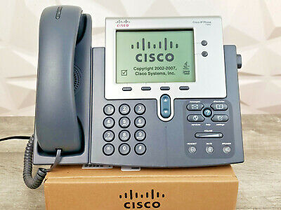 CISCO CP-7911G SCCP VoIP IP Telephone Phone PoE - B-Stock