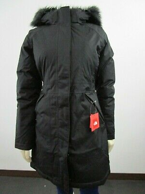 NWT Womens The North Face TNF Arctic Down Parka Warm Winter Jacket - Black