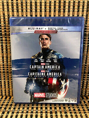 Captain America: The First Avenger (Blu-ray, 2017)Marvel.Steve Rogers/Red Skull