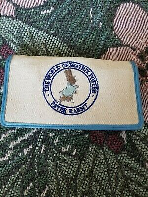 The world of peter rabbit checkbook wallet  by beatrix potter