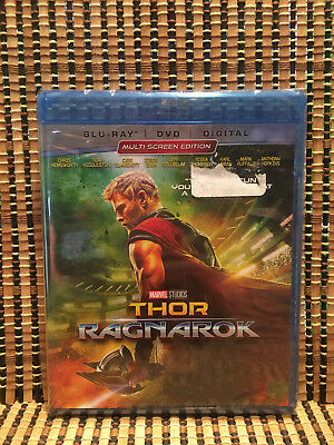 Thor 3: Ragnarok (2-Disc Blu-ray/DVD, 2018)Marvel Avenger/Hulk.Chris Hemsworth