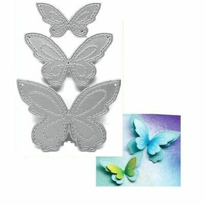 Butterfly Metal Cutting Dies Stencil DIY Scrapbooking Paper Card Decor Embossing