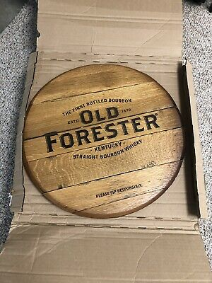 Old Forester Straight Bourbon Whisky Barrel head, Brand New