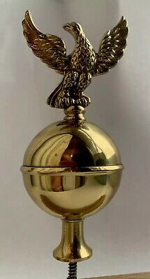 Georgian Style Longcase Clock Eagle Finial - New Old Stock